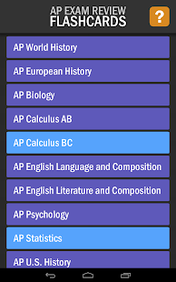 AP Exam Review Flashcards- screenshot thumbnail