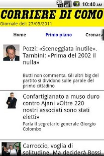 Corriere di Como - screenshot thumbnail