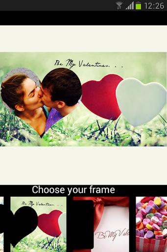 Love Frames Valentine`s day