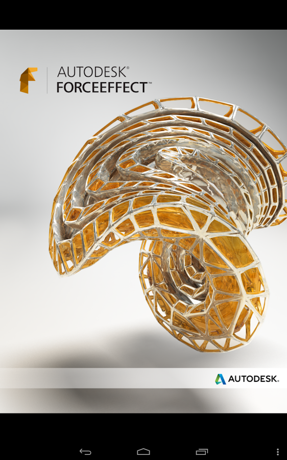 Autodesk ForceEffect- screenshot
