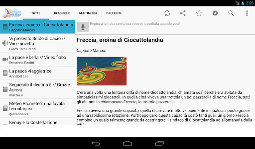 Italian bedtime stories screenshot