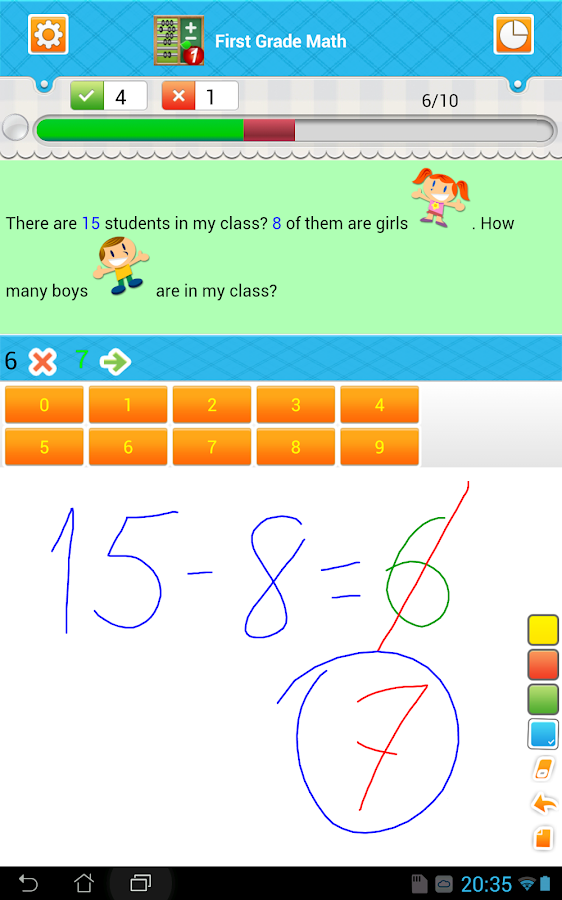 First Grade Math Free - Android Apps on Google Play