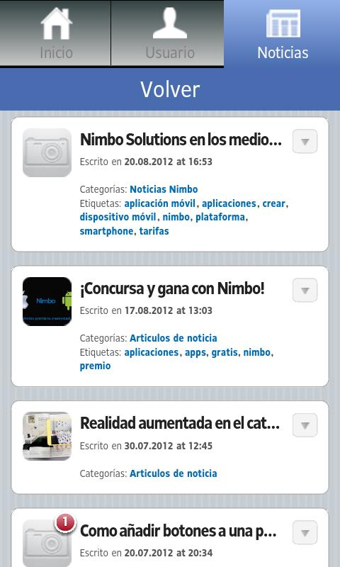 Nimbo - screenshot
