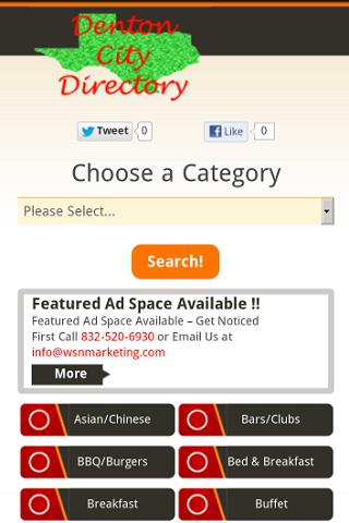 Denton City Directory