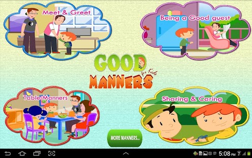 Good Manners for Kids - screenshot thumbnail