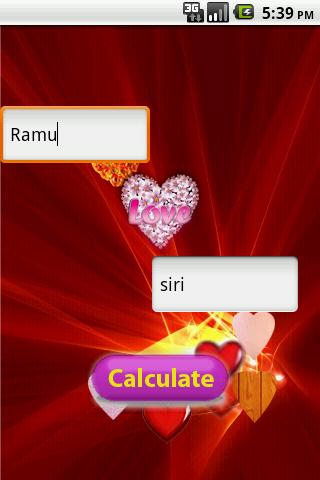Lovers Lovely Love Calculator