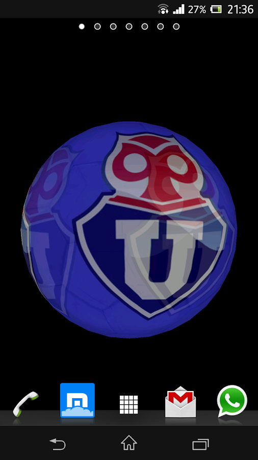 Ball 3D Universidad de Chile - screenshot