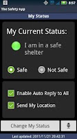Screenshot of The Safety App