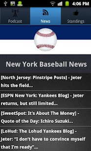 New York (NYY) Baseball - screenshot thumbnail