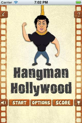 Hangman Hollywood 2012- screenshot