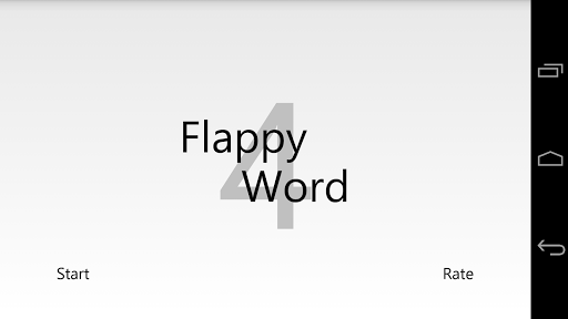 Flappy Word