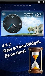 Weather & Clock - Meteo Widget screenshot 1