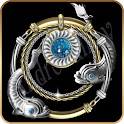 Zodiac ADW Jewelled Pisces icon
