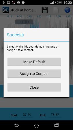 MP3 Cutter Ringtone Maker Free 5 screenshot 44679