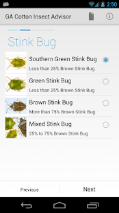 GA Cotton Insect Advisor- screenshot thumbnail
