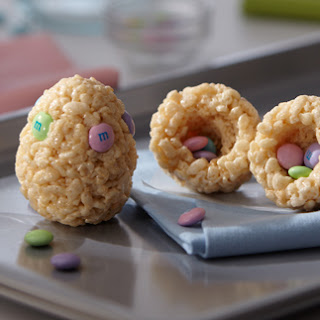 Rice Krispies Hidden Surprise Easter Egg Treats Recipe