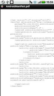 XML to PDF - screenshot thumbnail