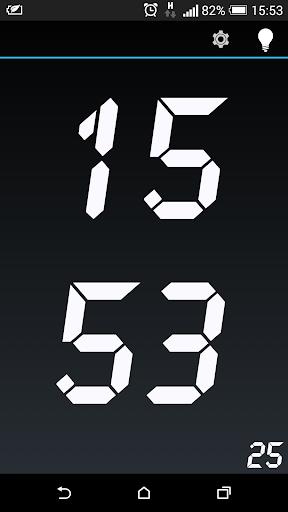 Clock - minimal full screen