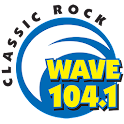 Wave 104.1 logo