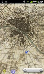Offline GPS Paris 1832- screenshot thumbnail
