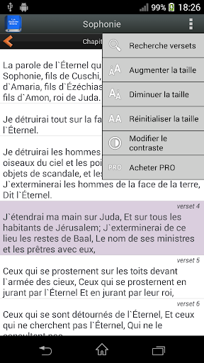 Bible en franu00e7ais Louis Segond  screenshots 5