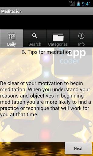 Meditación - Frases y Método