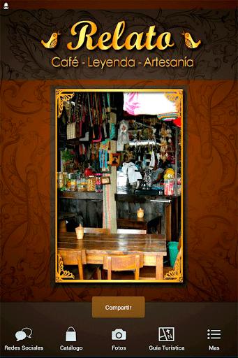 Relato Café y Artesanías