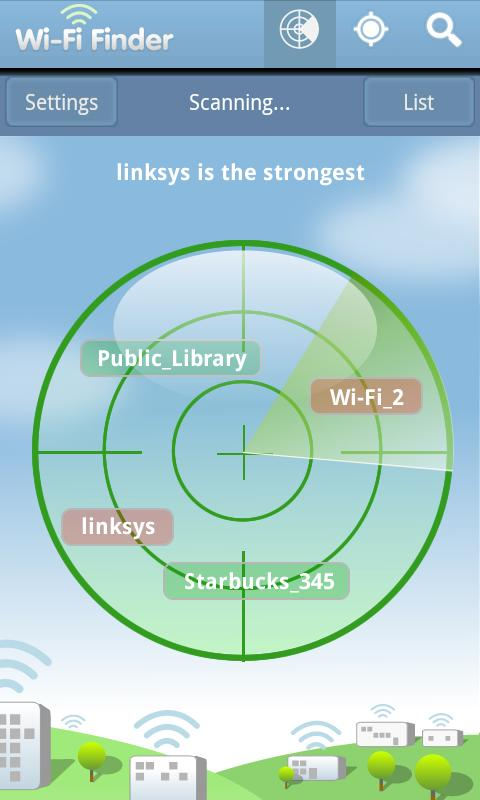 WiFi Finder - screenshot