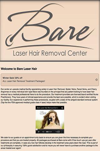 Bare Laser Hair