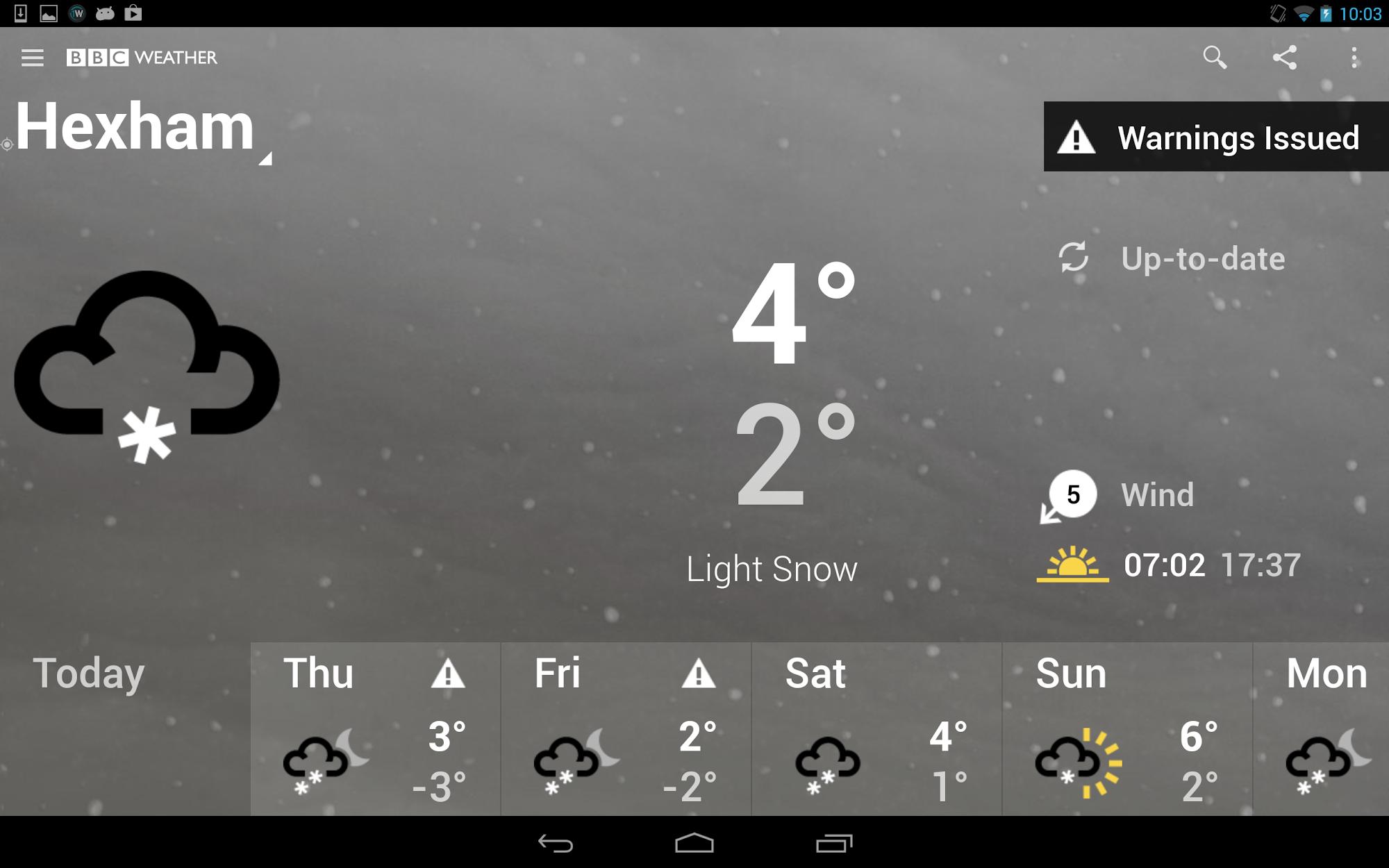 BBC Weather screenshot #8