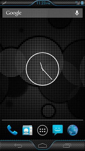 BluCarbonBLISS - CM AOKP THEME