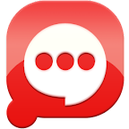 Easy SMS solid Red theme