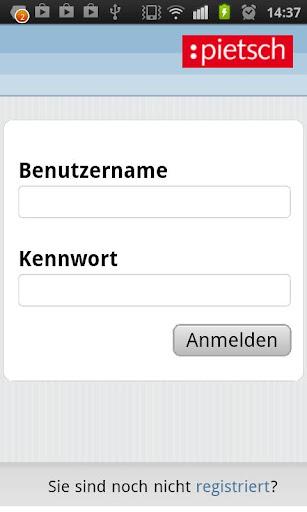 Pietsch Online System