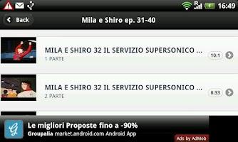 Screenshot of Mila e Shiro