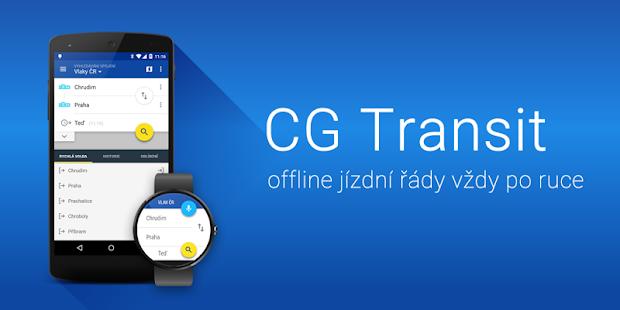 Offline Jízdní řády CG Transit Screenshot 9