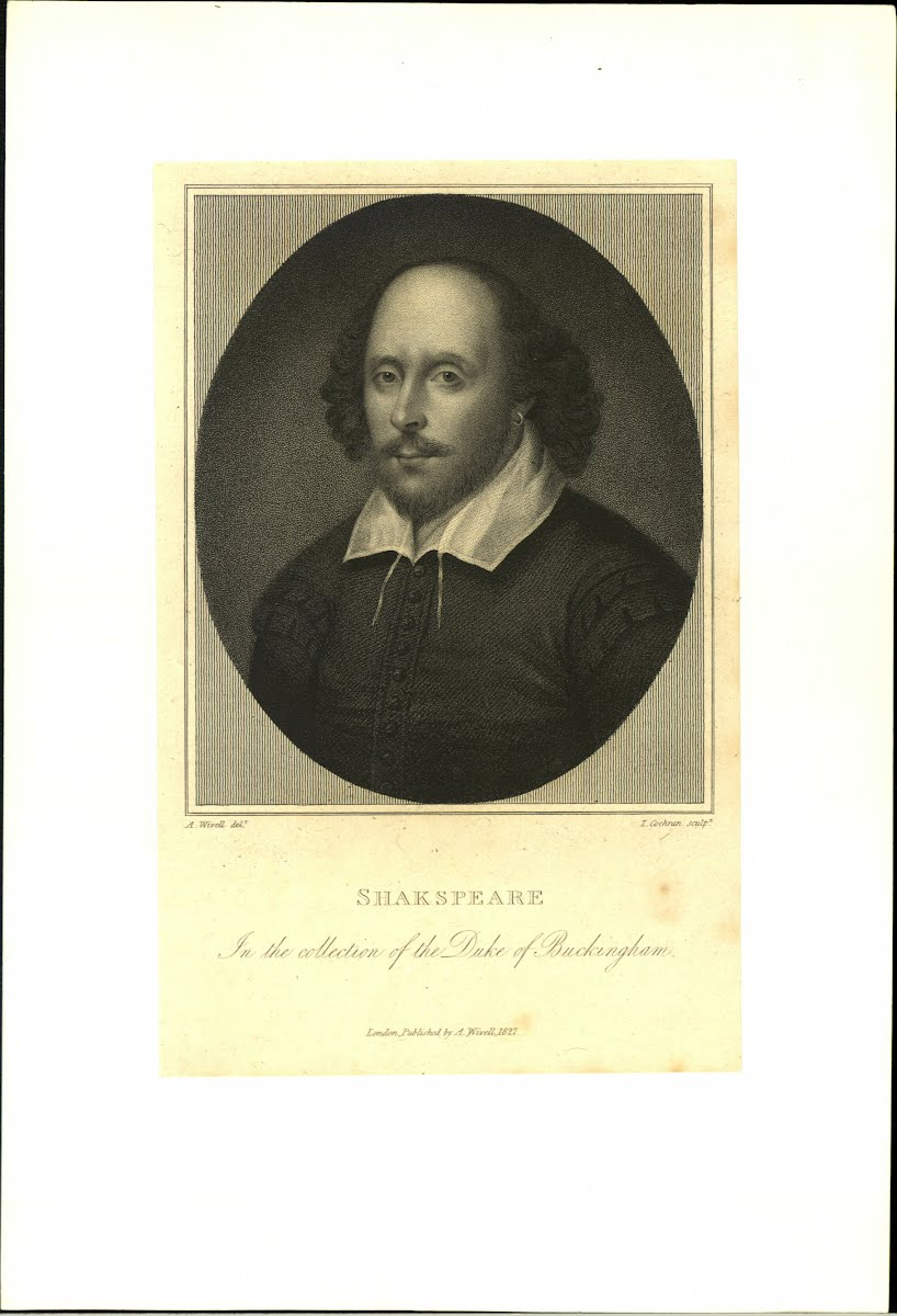 Shakespeare Wm Portraits General 1564-1616