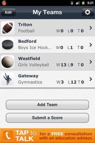 Michigan High School Sports - screenshot