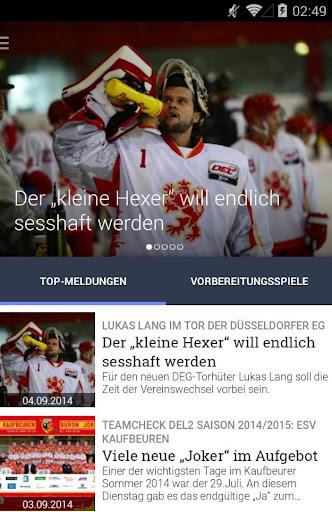 Hockeyweb - Die Eishockey App