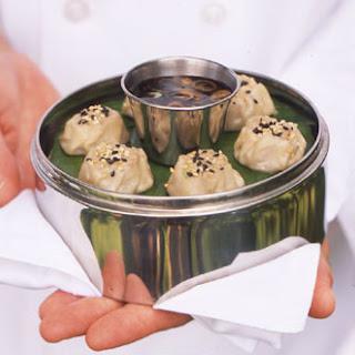 Steamed Pork and Jícama Dumplings