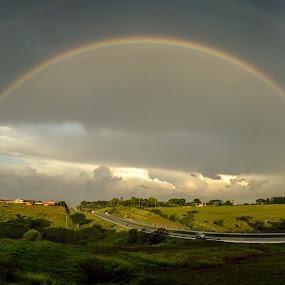 ... by Matheus Dalmazzo - News & Events Weather & Storms ( itapetininga, cinestudio, rainbow, panoramic )