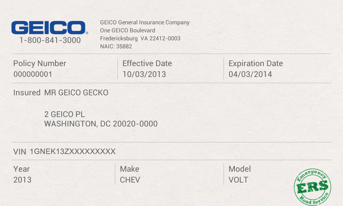 GEICO App - screenshot