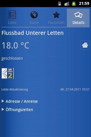 Züribad- screenshot