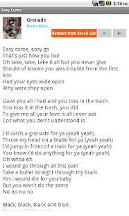 Easy Lyrics - screenshot thumbnail