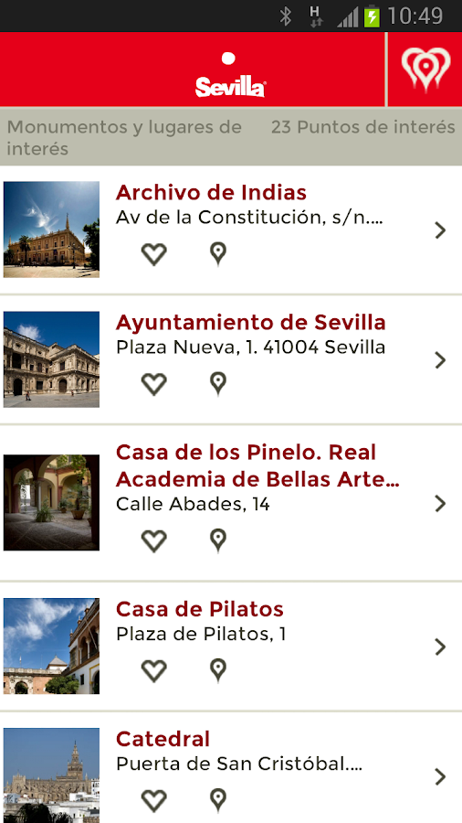 Visita Sevilla - screenshot