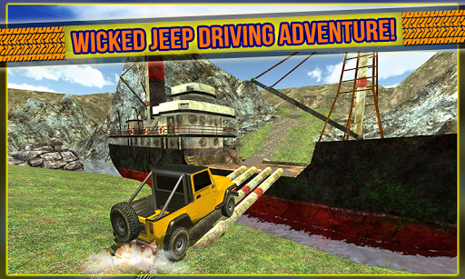 4x4 Extreme Jeep Driving 3D