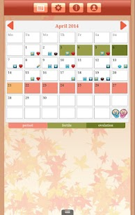 Menstrual Cycle Tracker - screenshot thumbnail