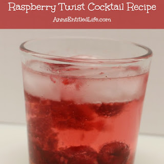 Raspberry Twist Cocktail.