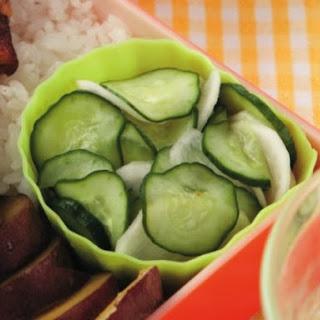 Cucumber and Turnip Salad with Yuzu