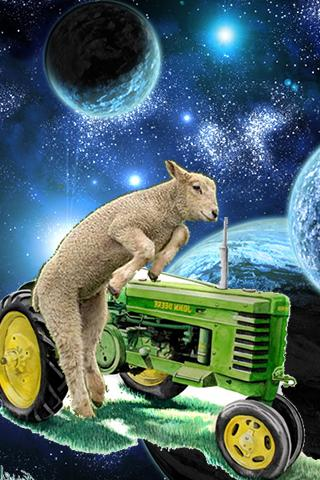 Space Lamb Tractor