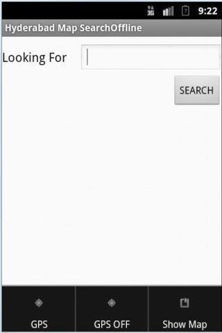 Hyderabad Map Offline Search